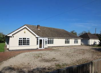 Thumbnail 6 bed bungalow for sale in Leicester Lane, Desford, Leicester