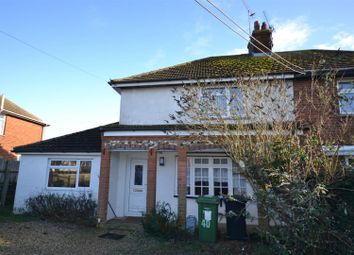 Thumbnail 3 bed semi-detached house for sale in Cheney Hill, Heacham, King's Lynn