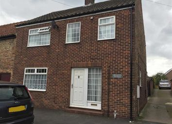 Thumbnail 3 bed semi-detached house to rent in Main Street, Long Riston, East Yorkshire