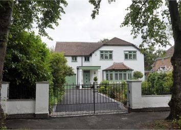 Thumbnail 4 bed detached house for sale in Kingsway, Heswall