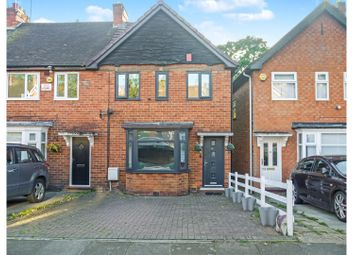 Thumbnail 3 bed end terrace house for sale in Gracemere Crescent, Birmingham