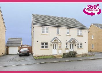 Thumbnail 3 bedroom semi-detached house for sale in Ffordd Y Meillion, Penllergaer, Swansea