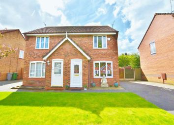 Thumbnail 2 bedroom semi-detached house for sale in Inglewood Close, Partington, Manchester