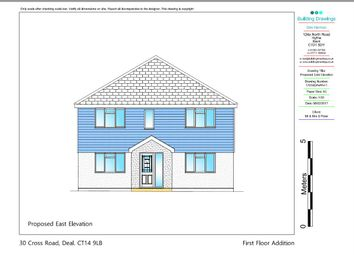 Thumbnail 4 bed detached house for sale in Cross Road, Walmer, Deal