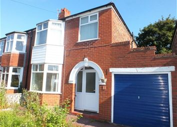 Thumbnail 3 bed property to rent in Rock Road, Urmston, Manchester