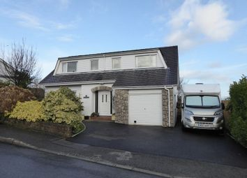 Thumbnail 4 bed detached house for sale in Tregarth, Bangor