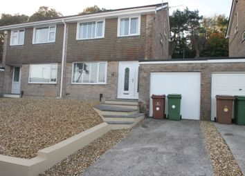 Thumbnail 3 bed semi-detached house for sale in Slatelands Close, Plymouth