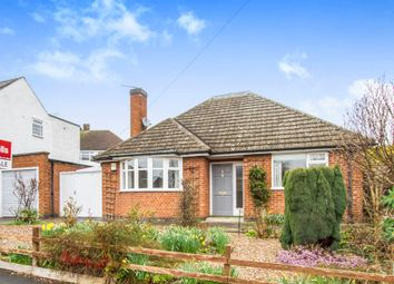 Thumbnail 2 bed detached bungalow for sale in Wayside Drive, Oadby, Leicester