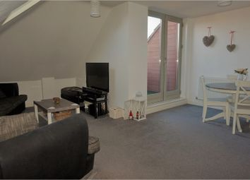 Thumbnail 2 bed flat for sale in 278 Checkland Road, Leicester