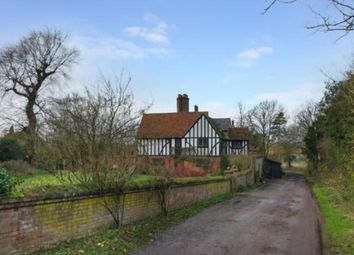 Thumbnail 4 bed detached house to rent in Fanhams Hall, Ware