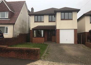 Thumbnail 4 bed detached house to rent in Lady Housty Avenue, Newton, Swansea