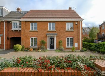 Thumbnail 4 bed detached house for sale in Hunts Field Close, Lymm