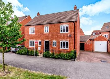 Thumbnail 4 bed detached house for sale in Ashmead Road, Brickhill, Bedfordshire, Bedford