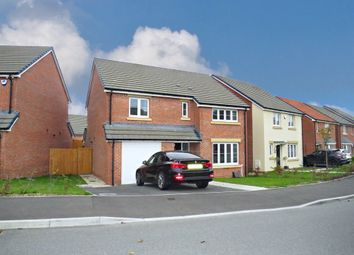 Thumbnail 4 bedroom detached house for sale in Harlech Road, St Lythans Park, Cardiff
