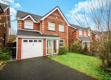 Thumbnail 4 bed detached house to rent in Elgar Close, Guide, Blackburn