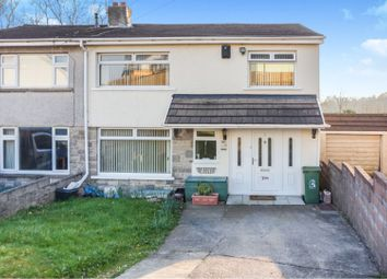 Thumbnail 4 bed semi-detached house for sale in Ty Fry Close, Brynmenyn, Bridgend