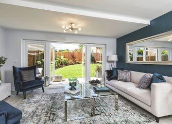 Thumbnail 4 bed terraced house for sale in De Burgh Gardens, Tadworth