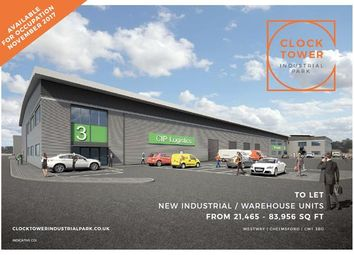Thumbnail Light industrial to let in Clock Tower Industrial Park, Westway, Chelmsford, Essex