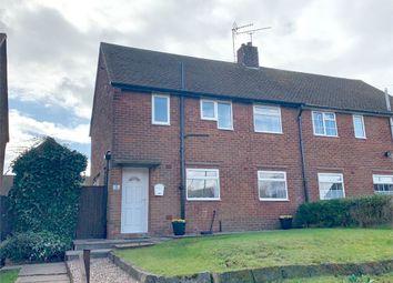 Thumbnail 3 bed semi-detached house for sale in Kipling Close, Worksop, Nottinghamshire
