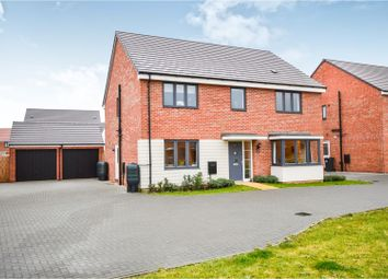 Thumbnail 5 bed detached house for sale in Simms Close, Wootton