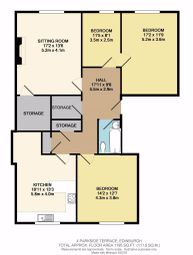 Thumbnail 3 bed flat to rent in Parkside Terrace, Newington