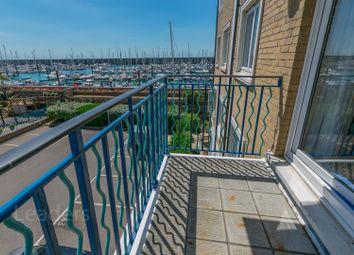 Thumbnail 2 bedroom flat for sale in Neptune Court, Brighton Marina Village