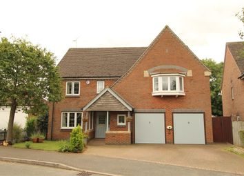 Thumbnail 5 bed detached house for sale in Burrough Way, Lutterworth