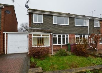 Thumbnail 3 bed semi-detached house to rent in Longcroft Road, Dronfield