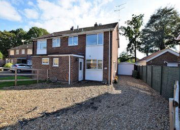 Thumbnail 3 bed semi-detached house for sale in Donnington Close, Camberley