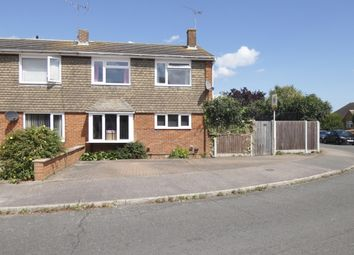 Thumbnail 4 bed semi-detached house for sale in Warwick Crescent, Sittingbourne