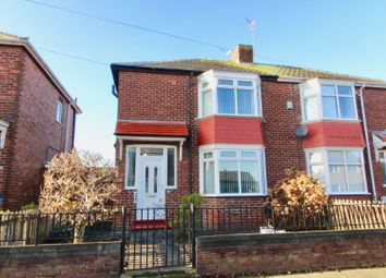 Thumbnail 3 bed semi-detached house for sale in Alwyn Road, Darlington