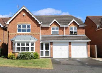 Thumbnail 5 bed detached house for sale in Hengist Close, Quarrington, Sleaford