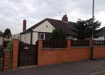 Thumbnail 2 bed semi-detached bungalow for sale in Eyre Street, Creswell, Nottinghamshire