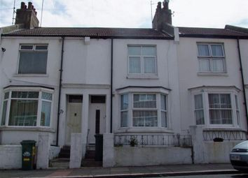 Thumbnail 3 bed terraced house to rent in Dewe Road, Brighton