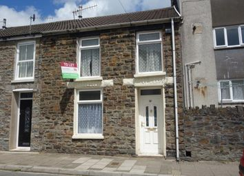 Thumbnail 3 bed terraced house to rent in Scott Street, Tynewydd
