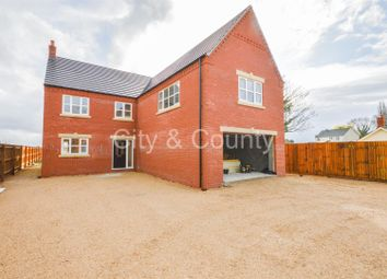Thumbnail 5 bed detached house for sale in North Road, Gedney Hill, Spalding