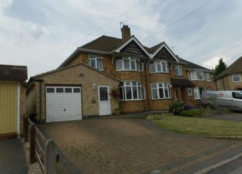 Thumbnail 3 bedroom semi-detached house for sale in Barngate Close, Birstall, Leicester, Leicestershire