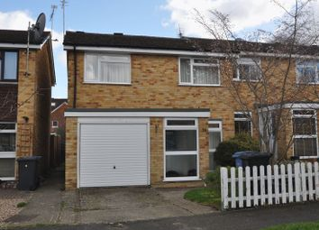 Thumbnail 3 bed semi-detached house to rent in Holland Gardens, Fleet