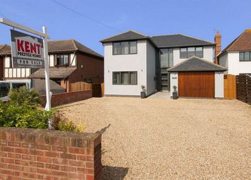 Thumbnail 4 bed detached house for sale in Invicta Road, Whitstable