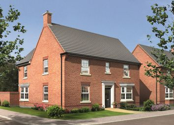 "Thumbnail 4 bedroom detached house for sale in ""Layton"" at Morganstown, Cardiff"