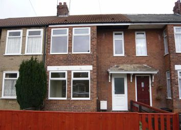 Thumbnail 2 bedroom terraced house to rent in Kirklands Road, Hull