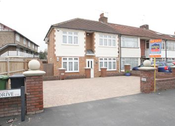 Thumbnail 4 bed end terrace house for sale in Queens Drive, Waltham Cross, Herts