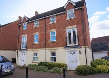 Thumbnail 4 bed semi-detached house for sale in Montague Drive, Greenham, Thatcham
