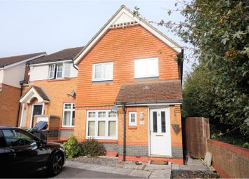 Thumbnail 3 bed semi-detached house for sale in Quob Farm Close, West End