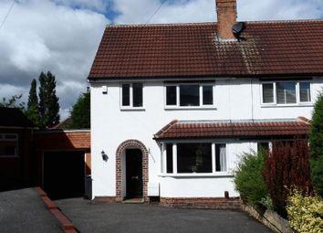 Thumbnail 3 bed semi-detached house to rent in Southwold Avenue, Kings Norton, Birmingham