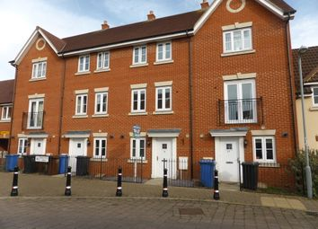 Thumbnail 4 bedroom town house to rent in Prentice Way, Ipswich