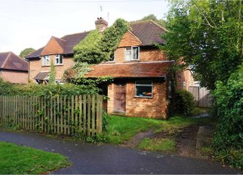Thumbnail 3 bed semi-detached house for sale in Homefield, Godalming