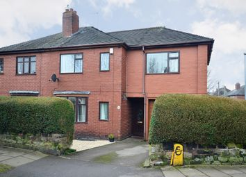 Thumbnail 4 bed semi-detached house for sale in Crossway Road, Sneyd Green, Stoke-On-Trent