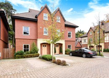 Thumbnail 4 bedroom semi-detached house for sale in Queensbury Gardens, Ascot, Berkshire