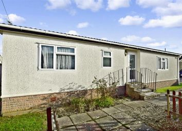 Thumbnail 2 bed mobile/park home for sale in Shenley Park, Shenley Corner, Ashford, Kent